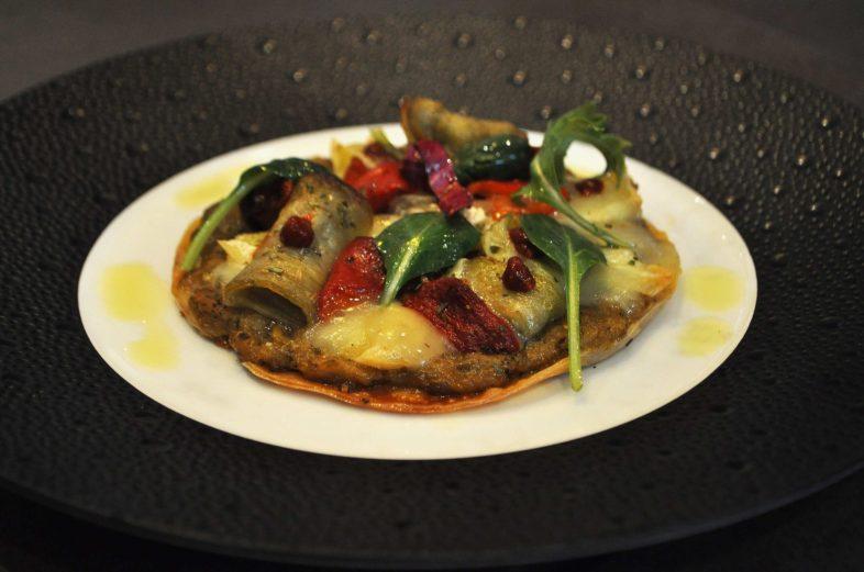 Tarte fine d'aubergines - Photo Courtoisie