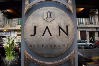 Restaurant JAN: La façade