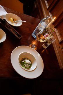 Horváth Restaurant: Persil, jaune d'œuf et radis
