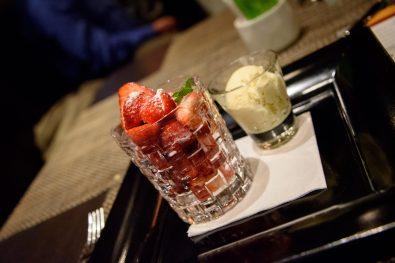 Midtown Grill: Fraises pour dessert
