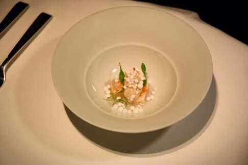 Cinco Paco Perez: Crevettes à la thaïe