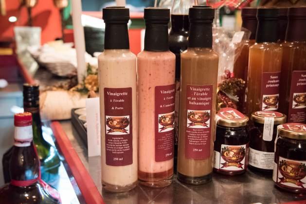 La Table du chef Robert Bolduc: les vinaigrettes et condiments à vendre sur place