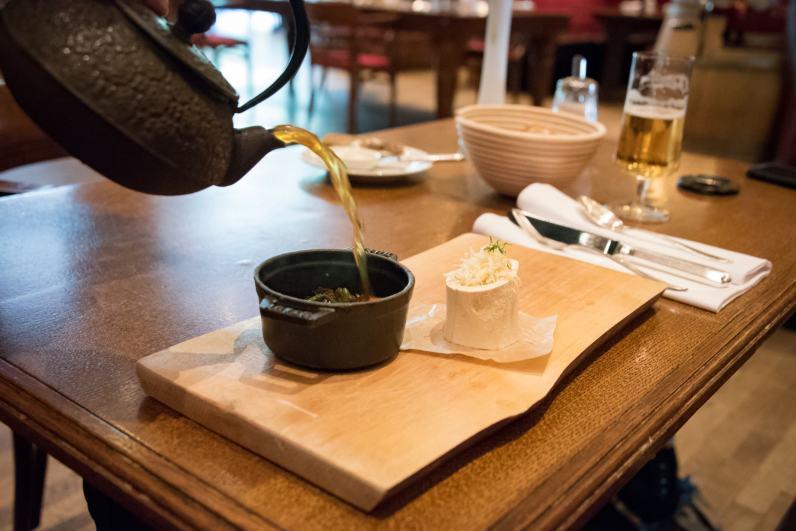 Brasserie Desbrosses, Berlin: Soupe de queue de boeuf