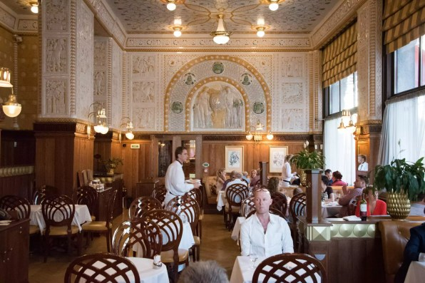 Cafe imperial, Prague