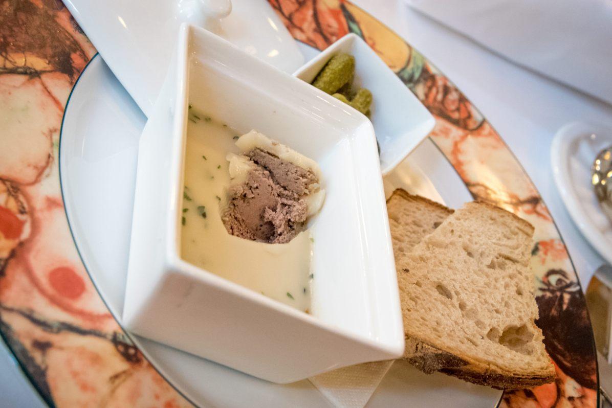 Cafe imperial, Prague - Terrine de lapin