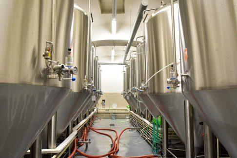 Únětický Pivovar - The Fermentation Tanks