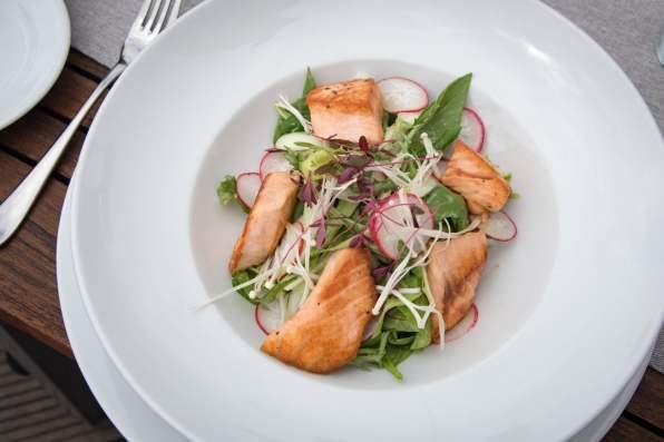 Coda, Prague - Salmon Salad