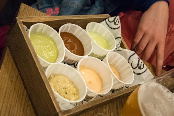 Bia Mara, Bruxelles - Les sauces
