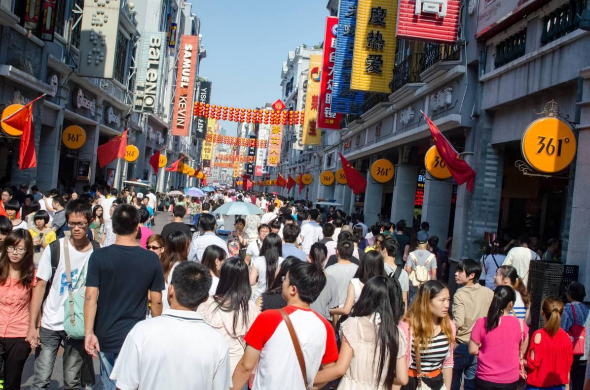 Pays qui profitent le plus du tourisme - Chine. Ici, Guangzhou. - Photo © Cedric Lizotte