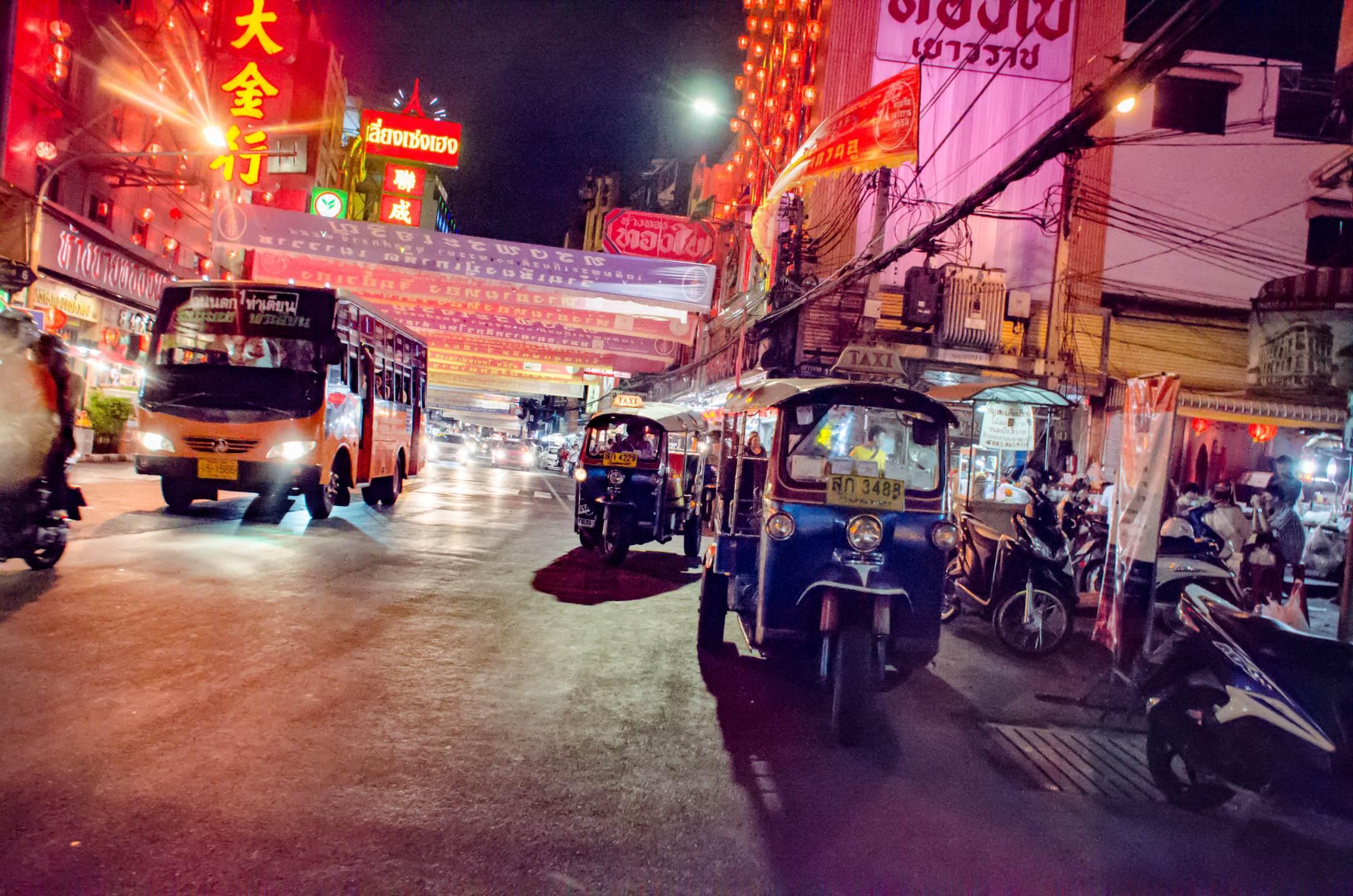 Pays qui profitent le plus du tourisme - Thaïlande. Ici, Bangkok. - Photo © Cedric Lizotte