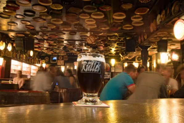 Delirium Café, a beer bar in Brussels