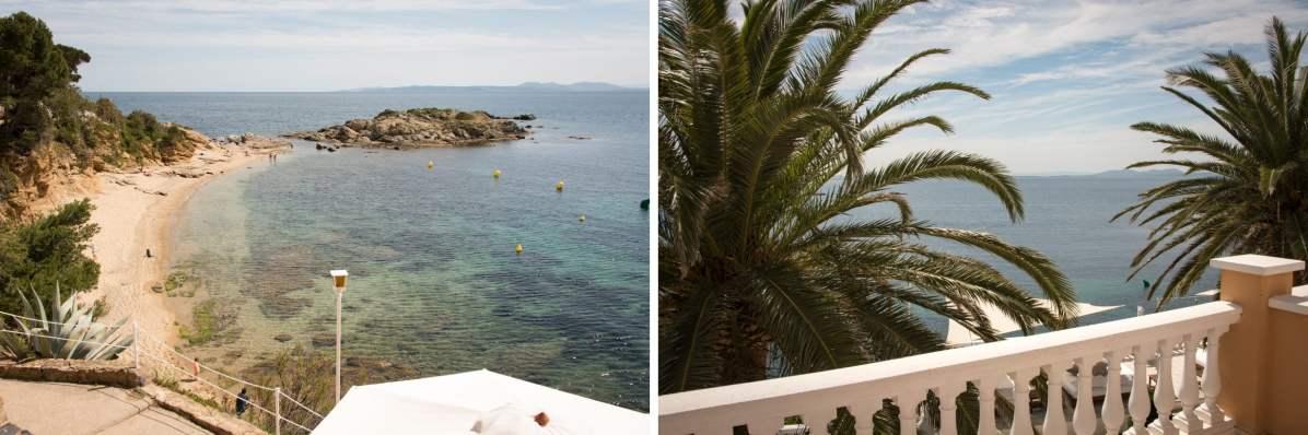 La mer, vue de Roses, Espagne