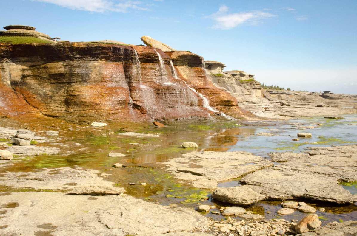 limestone parc de la minganie