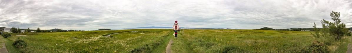 Roadtrip dans le Bas-St-Laurent: Le petit phare de Saint-André-de-Kamouraska