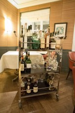 Dallmayr, restaurant à Munich: Le chariot des digestifs