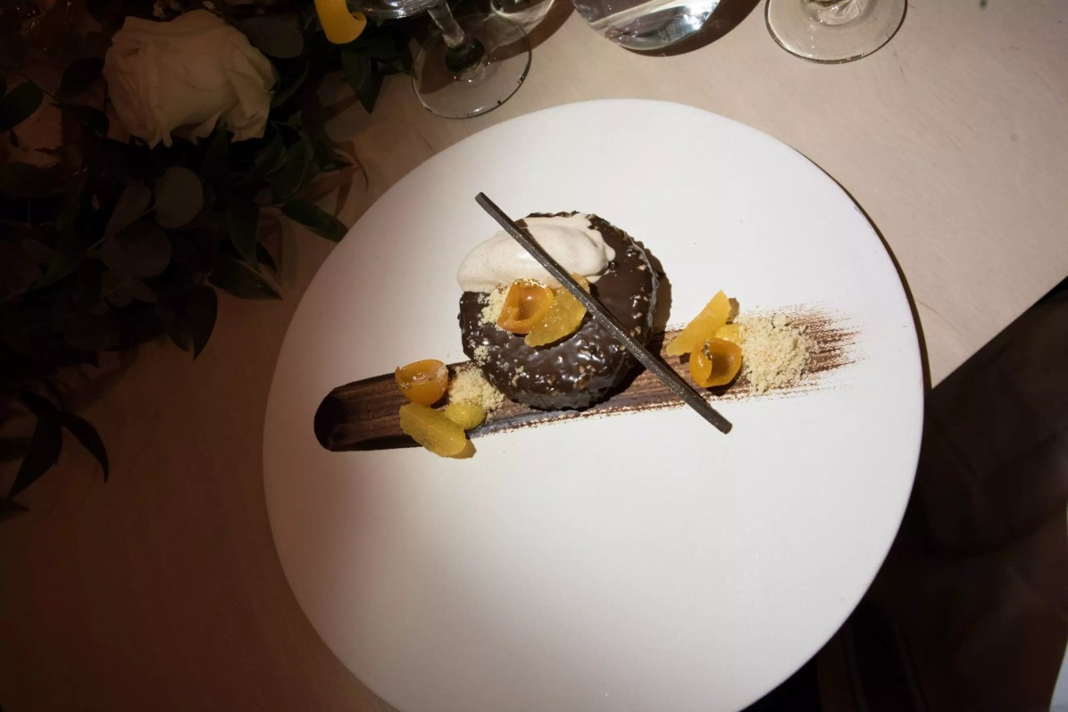 Lancement du Star of Bombay au restaurant HVOR - Gâteau poire-chocolat