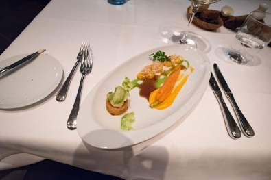 Tian, restaurant végétarien à Munich - Carottes, choux de Bruxelles