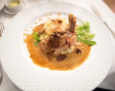 French Restaurant Munich - Le Cézanne, restaurant français à Munich: La pintade