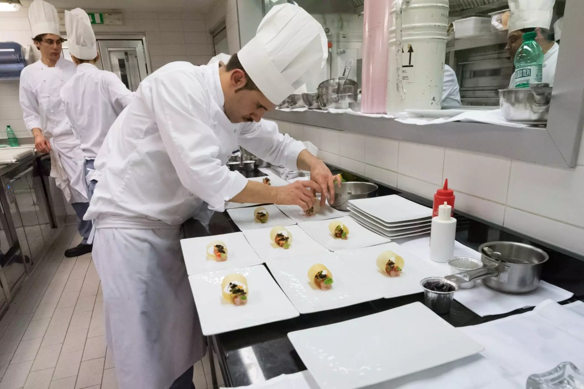 Interview with chef Heinz Beck at La Pergola in Rome