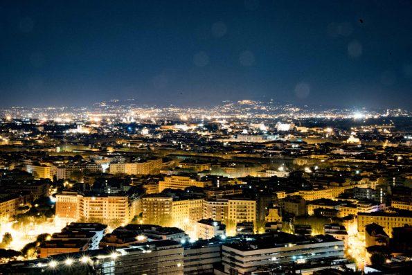 La Pergola, Rome - La vue sur la ville