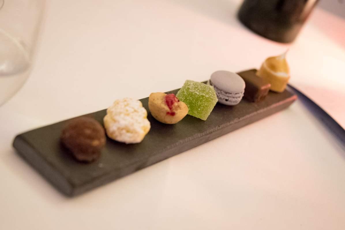 Imago Restaurant in Hassler Hotel Rome - The mignardises