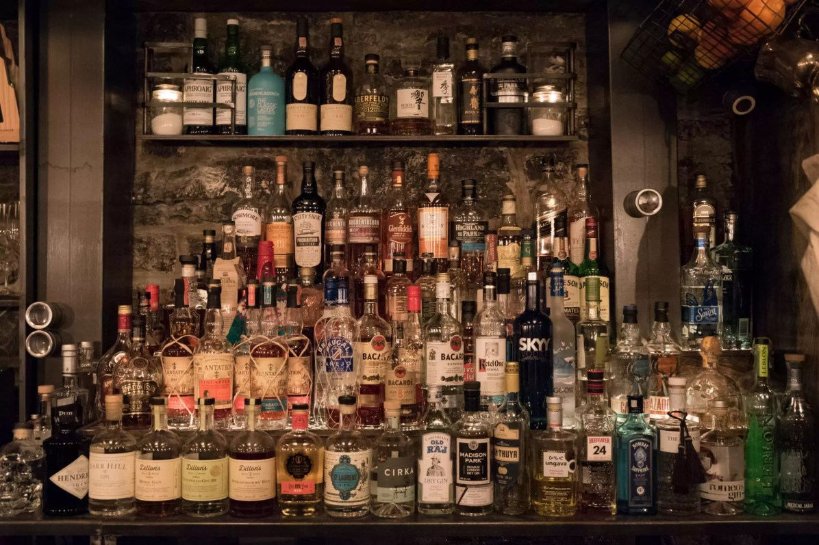 Le Coldroom, Montréal - Le bar