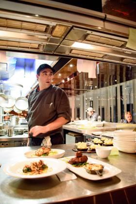 Les Labours, Baie-Saint-Paul: Chef Sylvain Dervieux