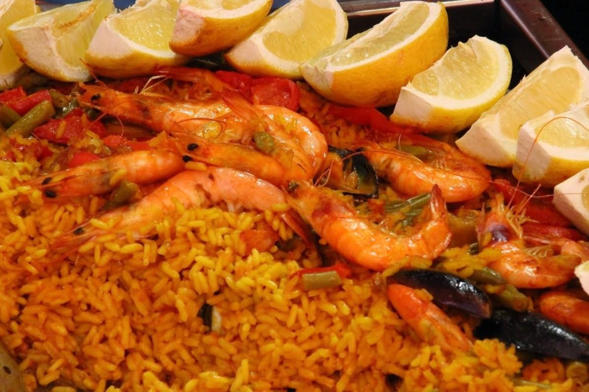 arroz de mariscos manger lisbonne