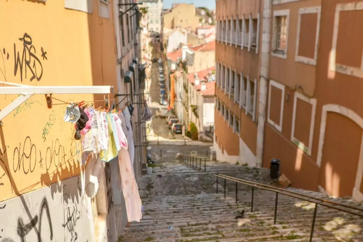 lisbonne escaliers-cedric-lizotte - Things to do in Lisbon