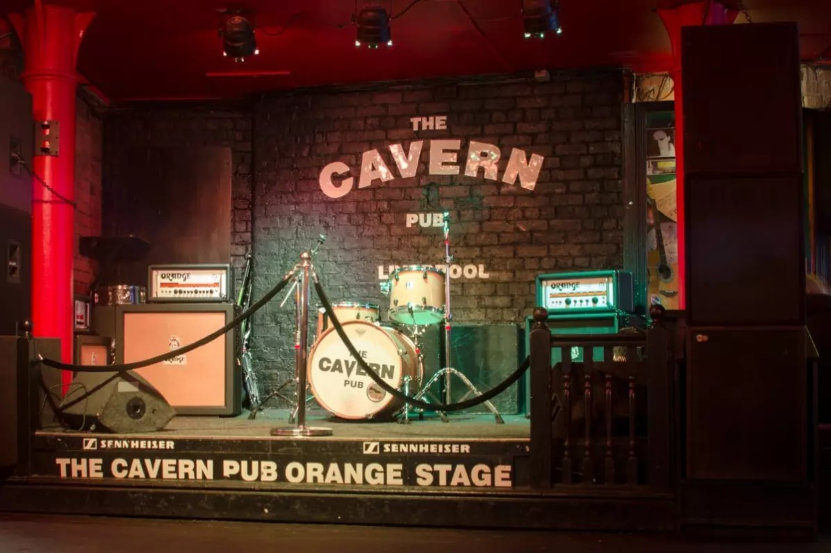 The stage at The Cavern