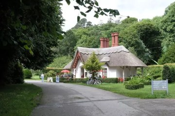 Tea Room at Killarney National Park, Ireland