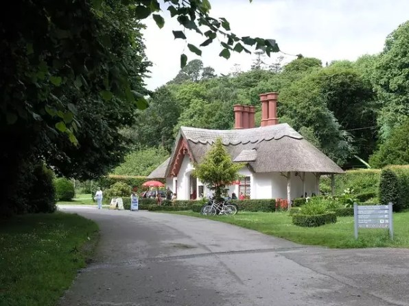 Tea Room at Killarney National Park, Ireland