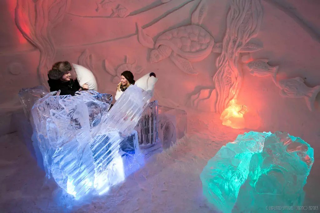 Ice and Snow Hotel - Lainio Snow Village of Yllasjarvi, Norway - Photo Courtoisie
