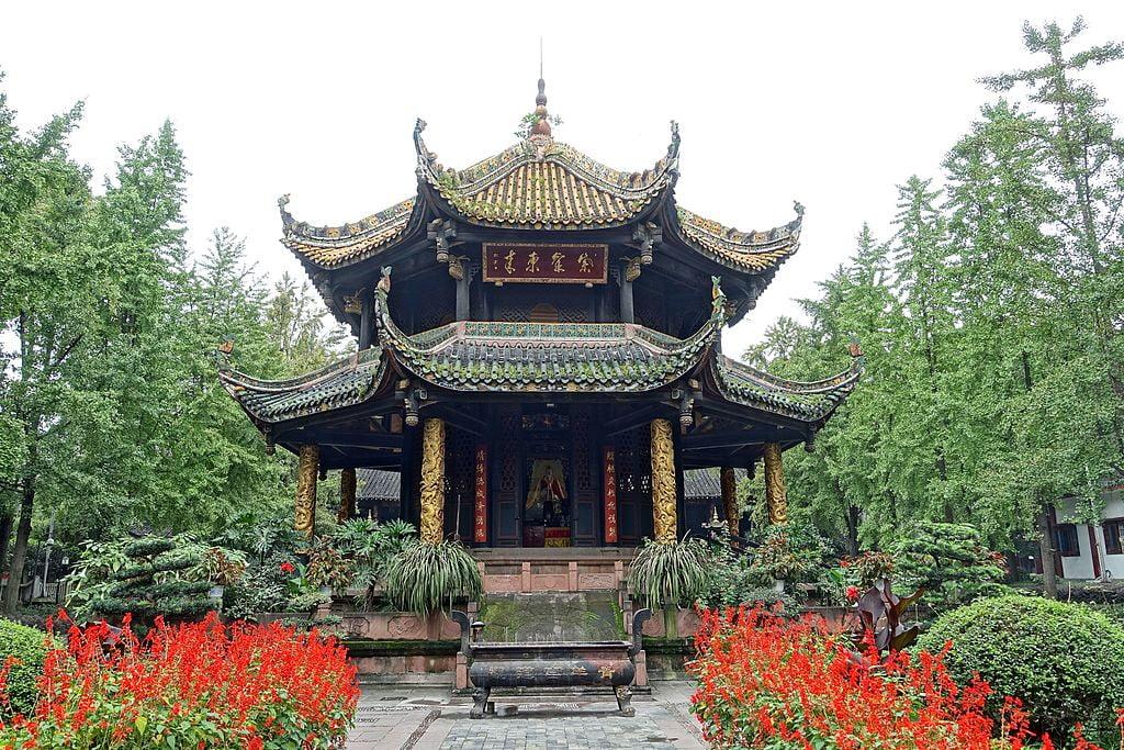 Things to do in Chengdu - Eight Trigram Pavilion, Chengdu - CC0 / Public Domain