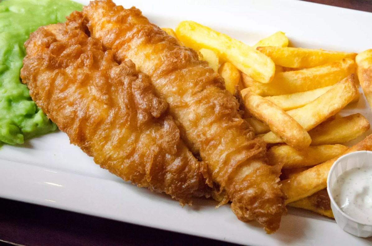 Edinburgh Travel Blog - You HAVE to visit a chip shop!
