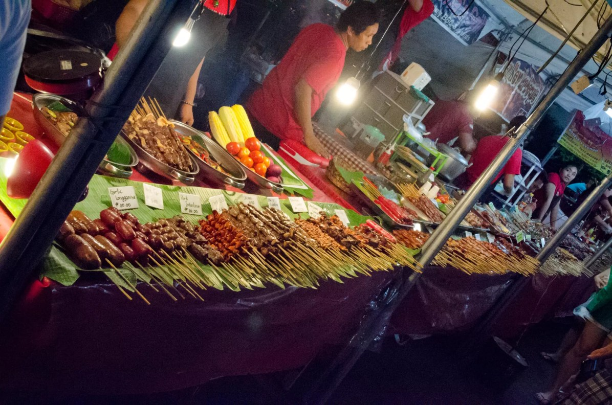 Things to do in Manila - Eat mystery-meat street-food!