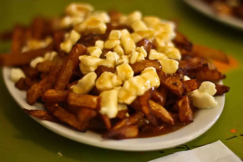 Delicious destinations Quebec City -French fries topped with cheese curds and gravy