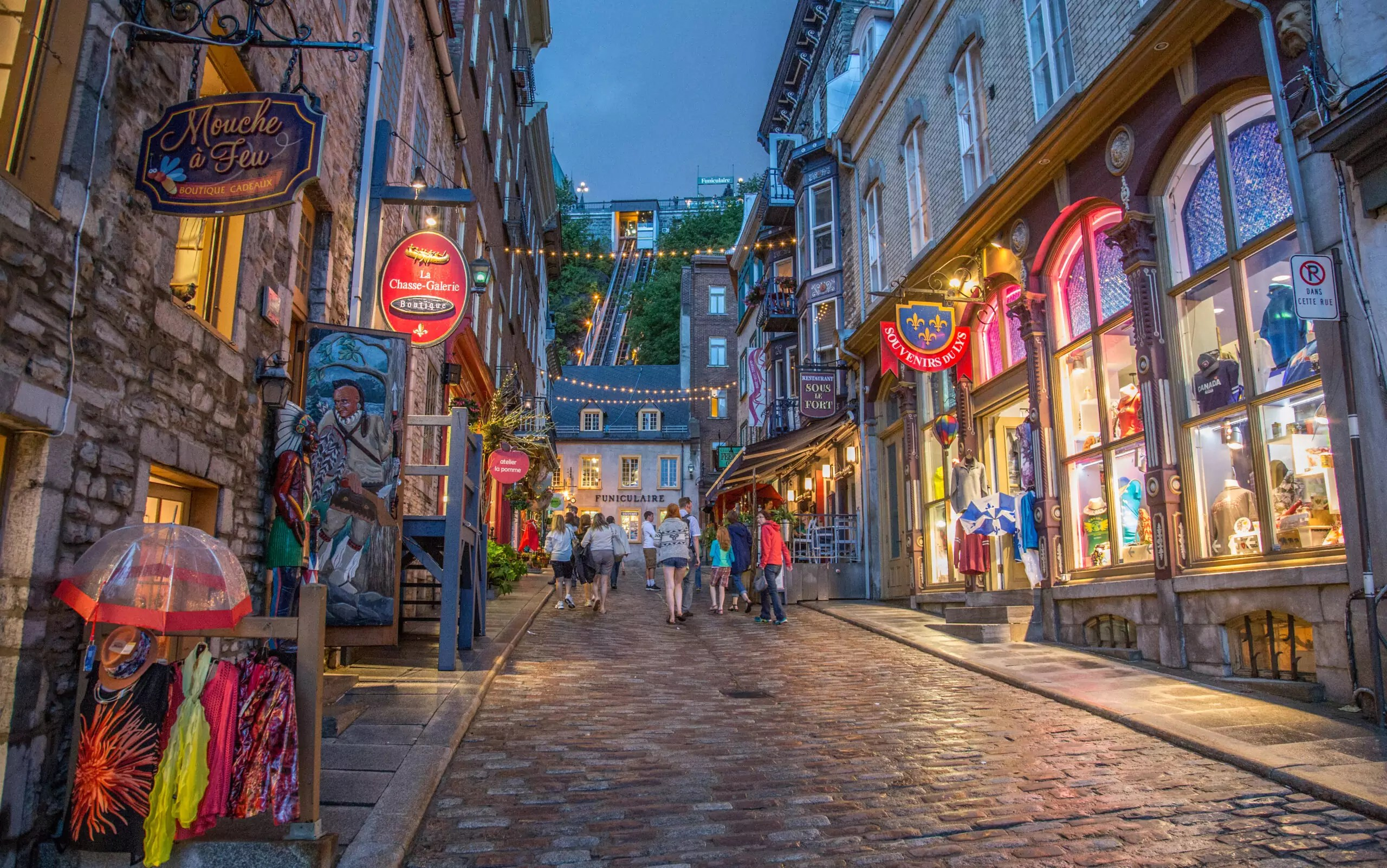 Rue Street, Quebec City