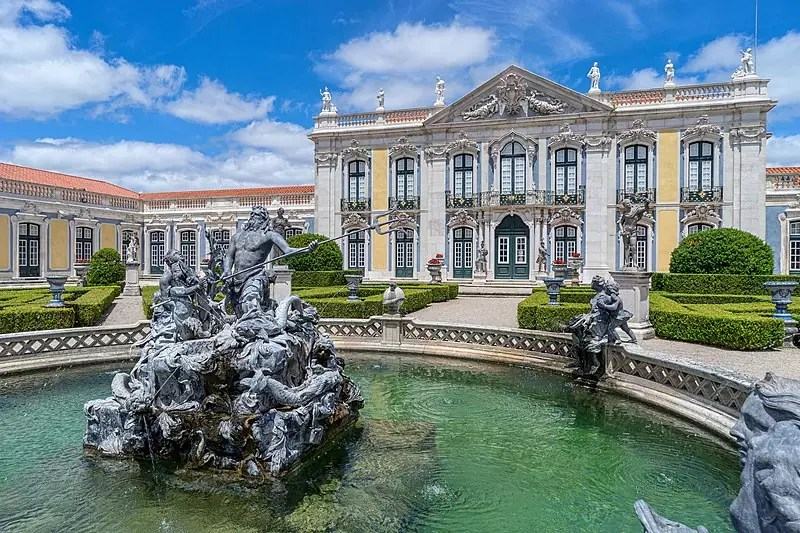 Day Trips from Lisbon - The Palace of Queluz - photo by Jean-Christophe BENOIST under CC BY 4.0