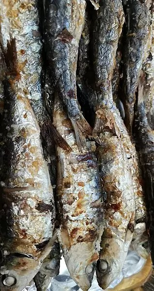 Grilled Sardines - photo by Monica_Loirinha under CC-BY-SA-2.0