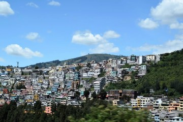 Quito, Ecuador - photo by Anne and David under Public Domain Mark 1.0