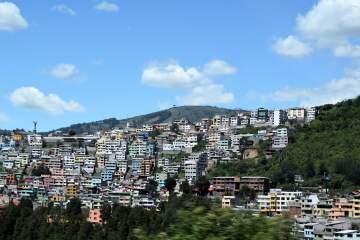 Quito, Ecuador - photo by Anne and David under Public Domain Mark 1.0