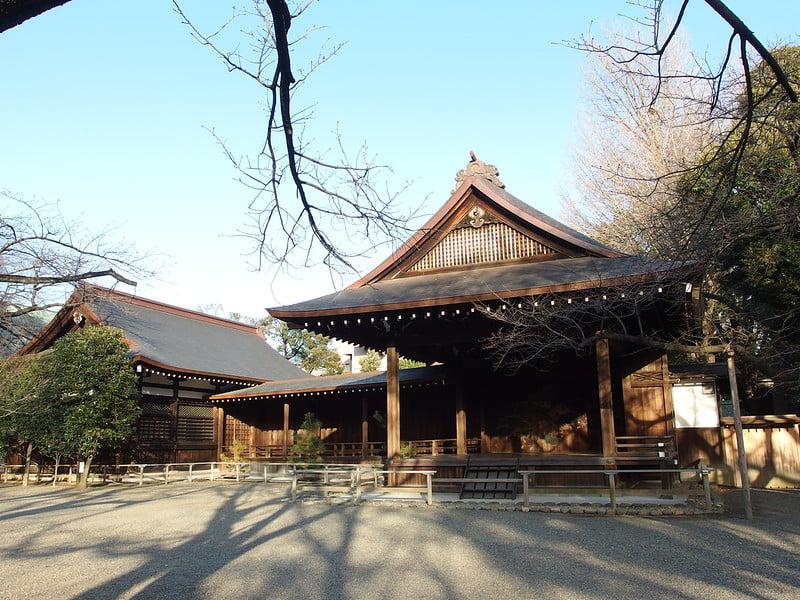 Yasukuni Shrine in Tokyo - photo by Guilhem Vellut under CC BY 2.0