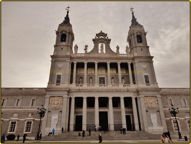 historical sites in Madrid - Catedral Santa María la Real de la Almudena - photo by Montserrat López Tamayo for Cathedrals and Churches under CC BY 2.0