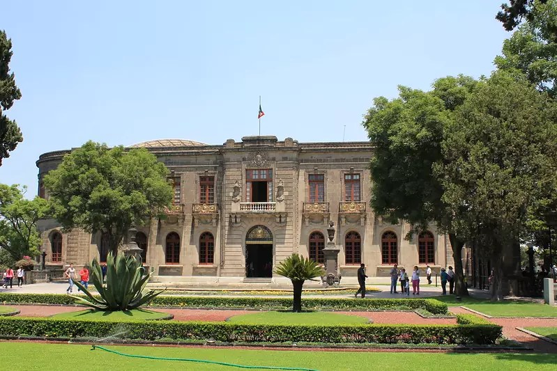 historical sites in Mexico City - Chapultepec Castle - photo by Arian Zwegers under CC BY 2.0