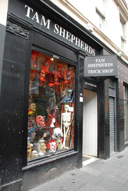 Tam Shepherds Trick Shop - photo by Jordanhill School D&T Dept under CC BY 2.0