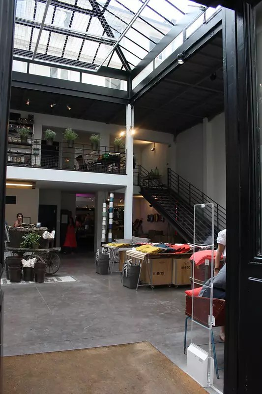 inside Merci - photo by Paris-Sharing under CC BY 2.0