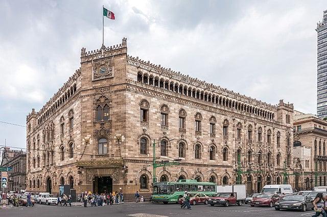 historical sites in Mexico City - Palacio Postal - photo by Thomas Ledl under CC-BY-SA-4.0