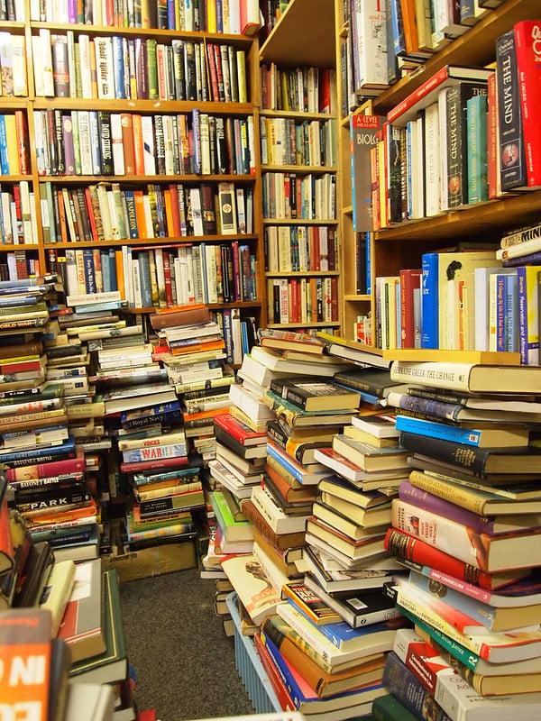 Voltaire & Rousseau Bookshop - photo by The Integer Club under CC BY 2.0
