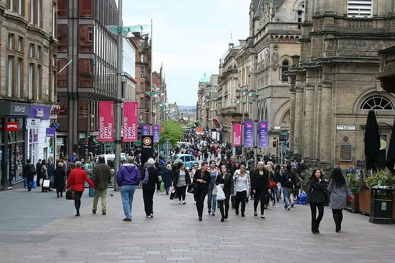 Buchanan Street - photo by © MSeses / Wikimedia Commons under CC BY-SA 4.0
